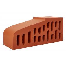 Кирпич фигурный для подоконника красный 1,4 НФ  завод Керамика Белебей
