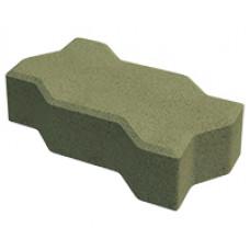 Плитка тротуарная Волна Build Stone 1Ф17.6 Желтая