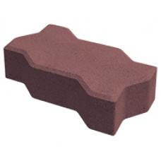 Плитка тротуарная Волна Build Stone 1Ф17.6 Красная