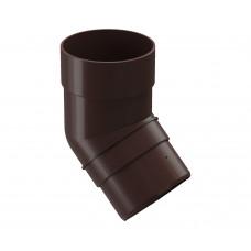 Колено 45* DOCKE PREMIUM шоколад