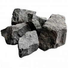 Камни банные Габбро-диабаз в коробке  20кг