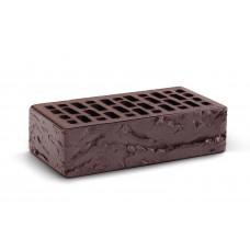 Кирпич облицовочный пустотелый Темный шоколад - Кора дерева 1 НФ Кирово-Чепецкий кирпичный завод