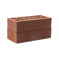 Кирпич облицовочный пустотелый Амстердам Стандарт (шоколад) 1 НФ Альтаир