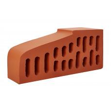 Кирпич фигурный для подоконника красный 1 НФ  завод Керамика Белебей