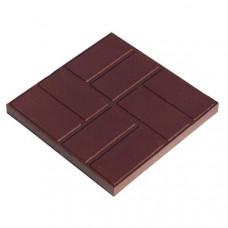 Плитка тротуарная Шоколад (8 прямоугольников )