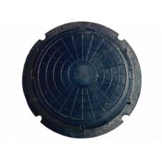 Люк полимернопесчанный облегченный до 1,5т черный