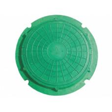 Люк полимернопесчанный до 3т зеленый